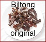 Beef biltong original bites 300 gram incl. porto_