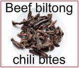 Beef biltong chili bites