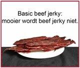 Basic beef jerky