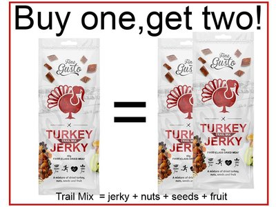 Fine Gusto Trail Mix Turkey 40 gram excl. porto