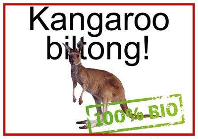 Kangoeroe biltong